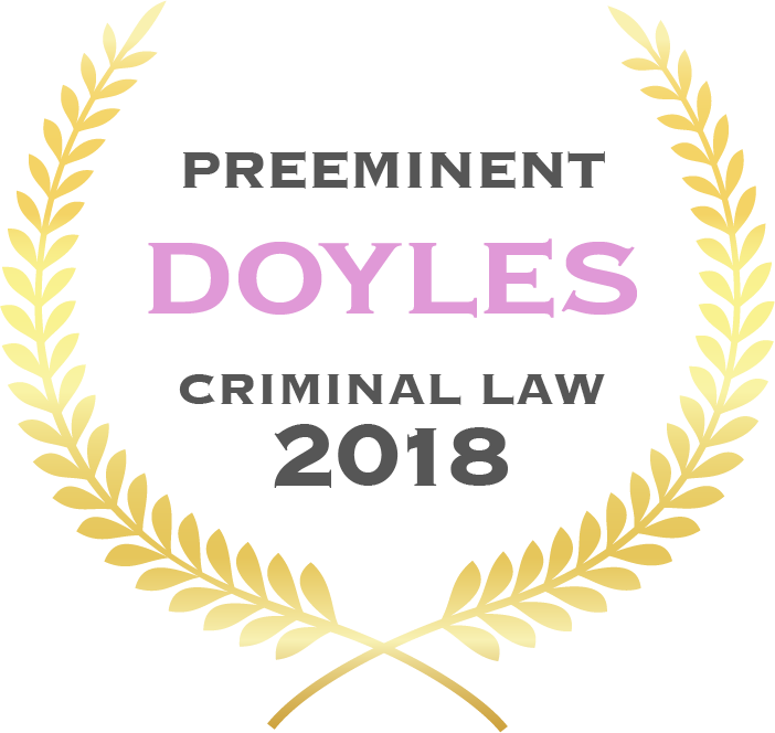 Kate King - Doyles Criminal Law 2018 - Preeminent